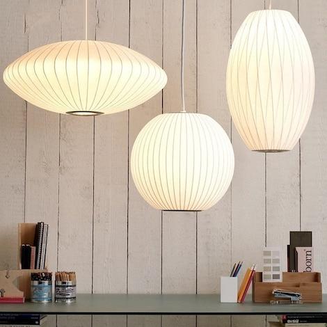 George Nelson Herman Miller Hay Bubble Lamp Series
