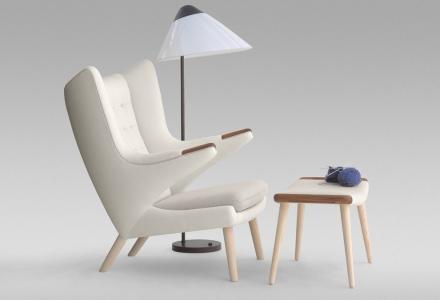 Pp19 Teddy Bear Chair Design Hans Wegner Pp M 248 Bler