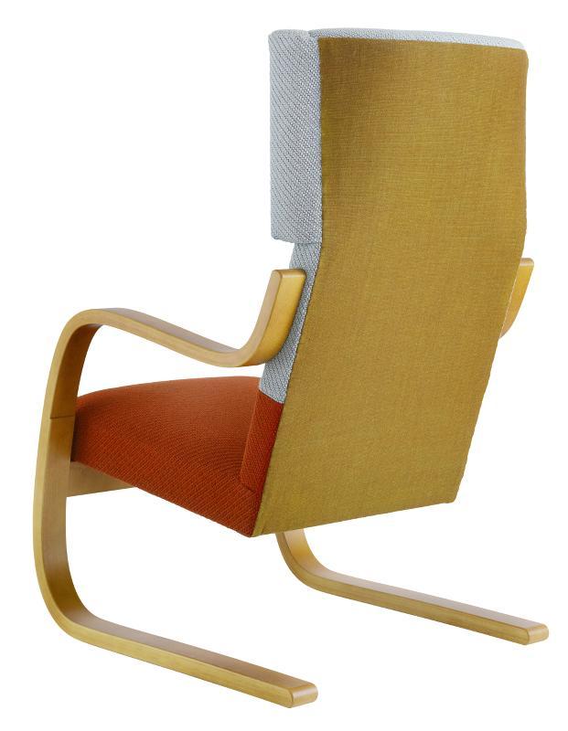 artek fauteuil 401 par hella jongerius alvar aalto. Black Bedroom Furniture Sets. Home Design Ideas